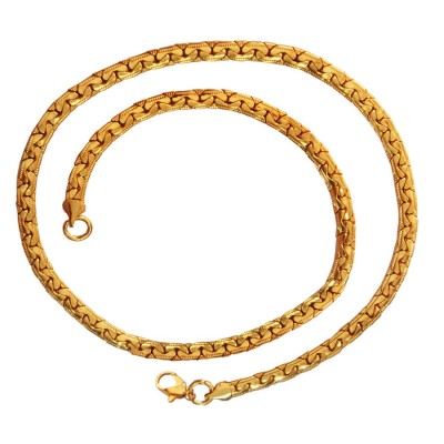 Gold Herringbone Fashion Figaro chain