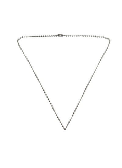 Silver Fashion Ball Chain