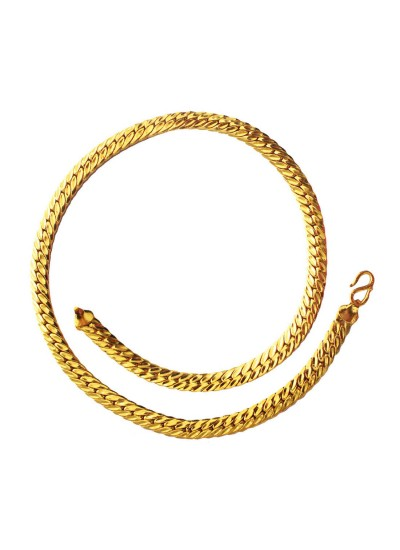 Gold Herringbone Fashion Gold Plated Chain