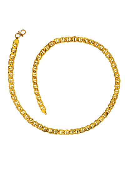 Gold Mariner Link Fashion Stainless steel Chain