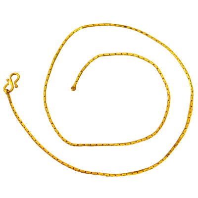 Gold  Byzantine Fashion Stainless Steel Chain