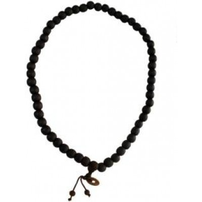 Brown Dalailama Wood Chain Mala Necklace