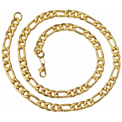 Elegant Gold Fashion Figaro Chain