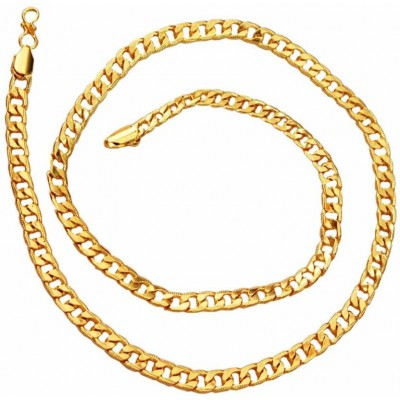Sachin Tendulkar inspired Elegant Gold Curb Fashion Chain