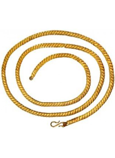 Gold Classic Wheat Link Gold Plated Brass Chain Chain