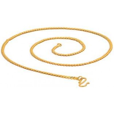 Gold Slim Wheat chain Fashion Gold Plated Brass Chain