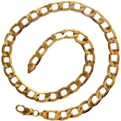 Gold Link Fashion Chrome plated Chain