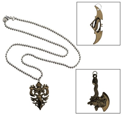 Mens Jewellery  Oxidise  Game Of Thrones Axe Design Stylish Combo Set With One Chain Pendant