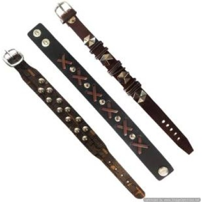 Multicolor  Combo Leather Fashion Bracelet