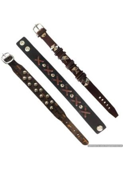 Multicolor  Combo Leather Fashion Bracelet