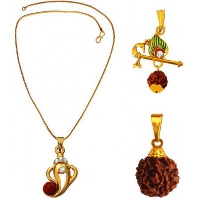 Lord Shiva ,Orignal Rudraksha Use Three Different Combo set for men