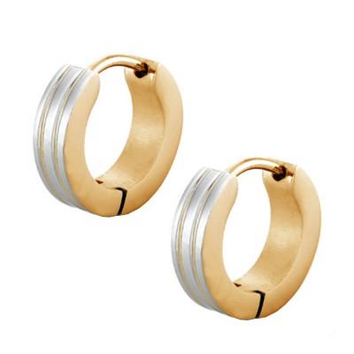 Silver::Gold  Prem Ratan Dhan Payo Salman Khan Inspired Fashion Hoop Earring