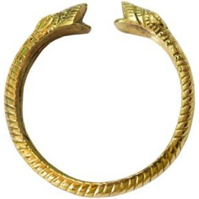 Gold Sikh Punjabi Sardar Fashion Brass Kada