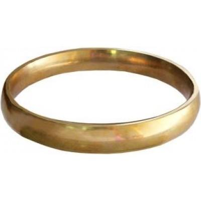 Elegant Gold Punjabi Sikh Brass  Kada