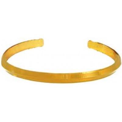 Gold Adjustable Punjabi Sardar ji Sikkh Fashion Brass Kada