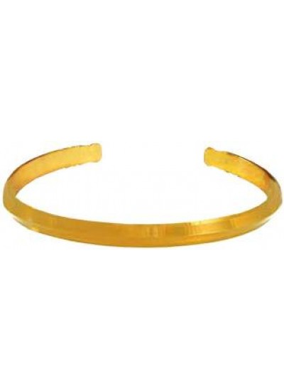 Gold Adjustable Punjabi Sardar ji Sikkh Fashion Brass Kada