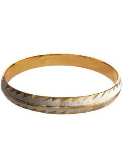 Gold::Gray Fashion Kada