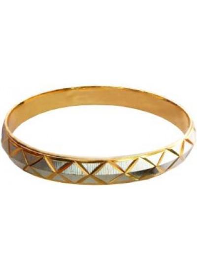 Gold::Gray Cross Fashion Kada