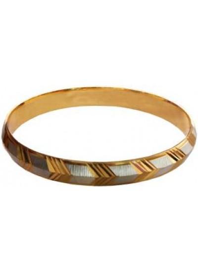Gold::Gray V Fashion Kada