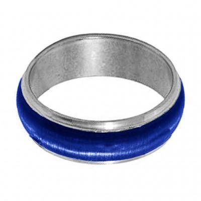 Blue  Thumb Band Fashion Ring