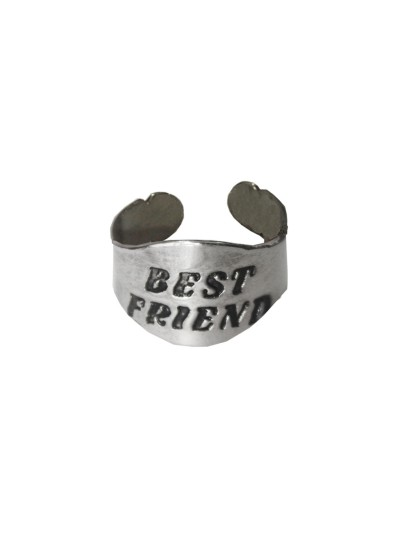Sliver  Friendship day Special Open End Fashion Ring