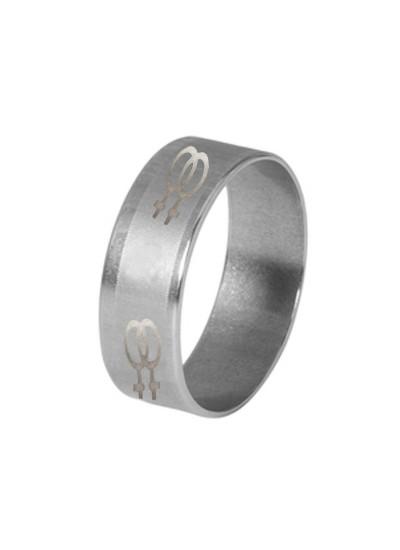 Silver  Fashion Thumb Ring