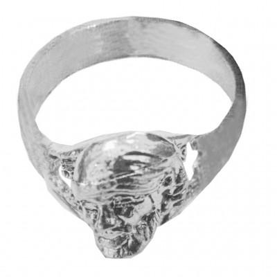 Sliver  Lord Shri Sai Baba Ring