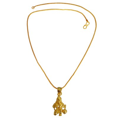 Buy designer fashionable hanuman ji pendants we have a wide range hanuman pendant gold plated stylish by menjewll aloadofball Choice Image