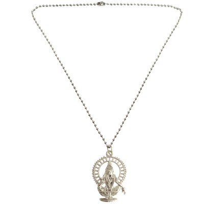 Menjewell New Collection Silver Lord Ayyappa Swami Pendant