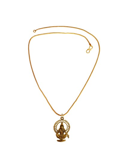 Menjewell New Collection Gold Lord Ayyappa Swami Design Pendant