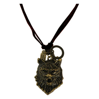 Bronze  Lion Fashion Pendant
