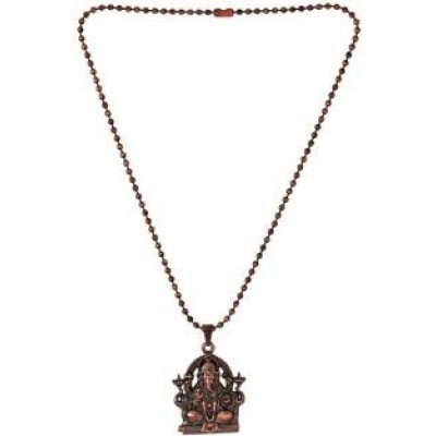 copper  Lord Ganesha Pendant