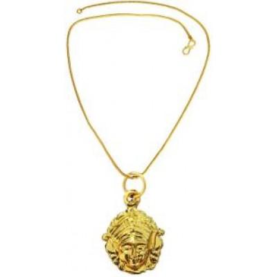 Gold   Maa Durga  Pendant