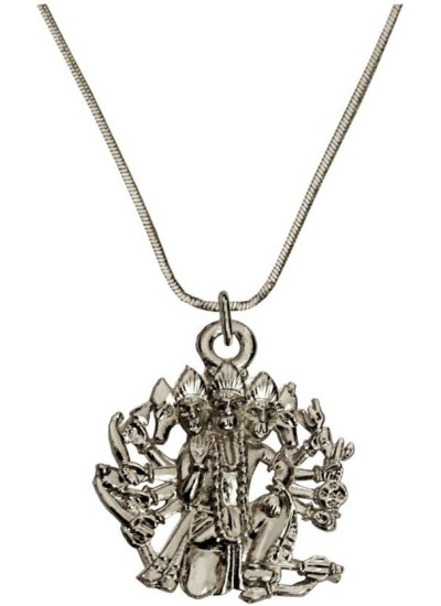 Elegant  Silver  Panchmukhi Hanuman Pendant