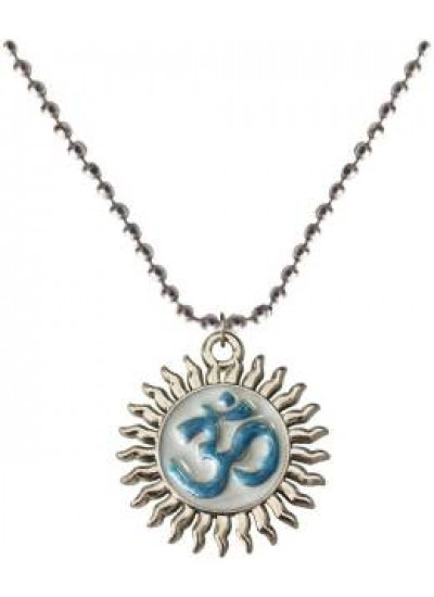 Elegant  Multicolor  Two sided Om Pendant