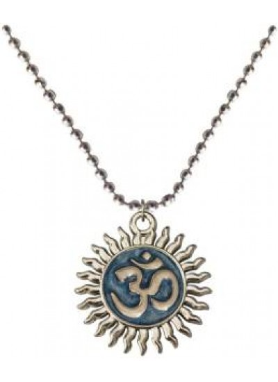 Blue::White   Om Pendant