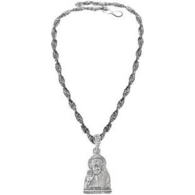 Silver  Lord Shree Sai Baba Pendant