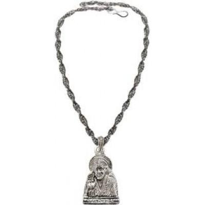 Silver  Lord Sai Baba Pendant