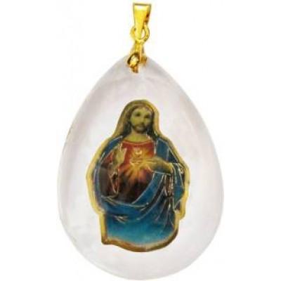 Multicolour  Elegant Jesus Pendant