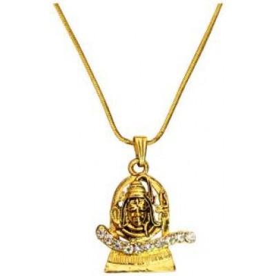 Gold  Shivratri Special Lord Shiva Pendant