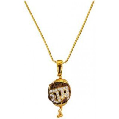 Brown   Rudraksha With Ram Pendant
