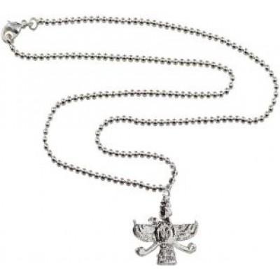 Silver  Faravahar Zoroastrian Parsi Farvahar Pendant