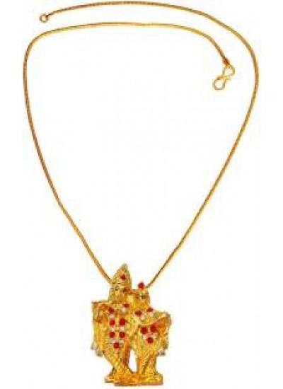Buy designer fashionable krishna pendants for men boy we have multicolor lord radha krishna stone studed pendant aloadofball Gallery