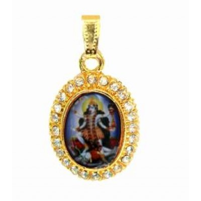 Gold  Kali  Pendent