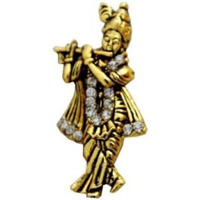 Gold  Krishna Pendent