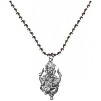 Elegant  Silver  God Ganesha Pendant
