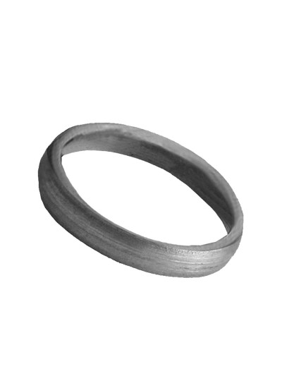 Menjewell Shani Dosha Niwaran Black Horse Shoe Iron Ring, Shani Chhalla, Kale Ghode Ki Naal  Alloy Finger Ring