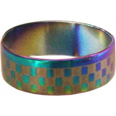 Elegant  Muliticolor  checks dot Fashion Ring