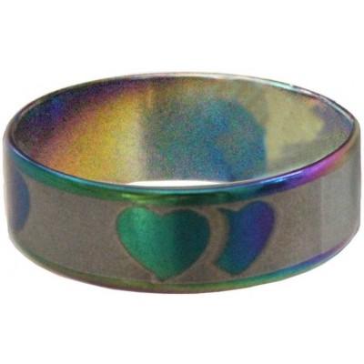 Elegant  Muliticolor  Heart Fashion Ring