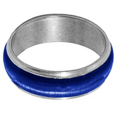 Elegant  Blue  Thumb Band Fashion Ring